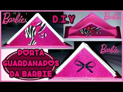 D.I.Y: Porta Guardanapos Barbie Fashion ♥