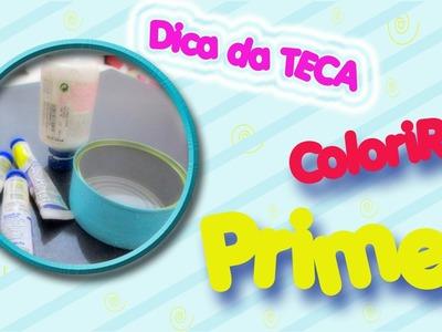 DIY - DICA de como COLORIR PRIMER - Garrafas, Bottelas, Plástico, Metal