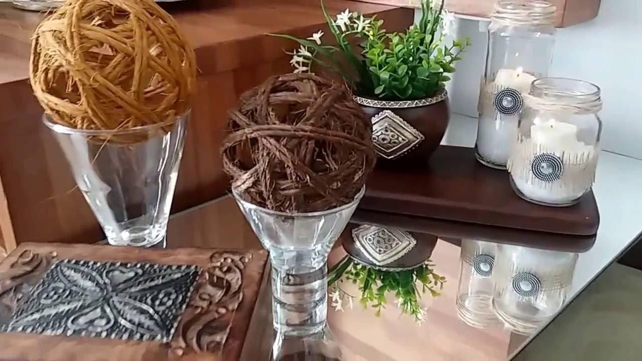 DIY Porta Velas Reciclados
