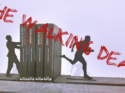 DIY :The Walking Dead - Aparador de livros