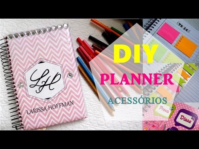 DIY - Acessórios para planner   Caderno de organização