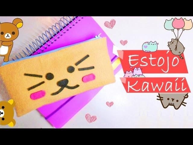 Diy - Como Fazer Estojo.Nacessaire Kawaii (かわいい)   Diy Nathy Araujo