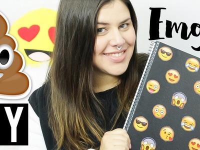 DIY: ITENS DE PAPELARIA COM EMOJIS | Volta às aulas!
