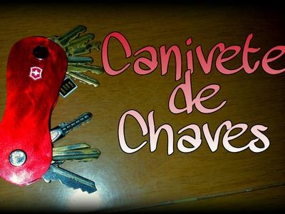 Canivete chaveiro - DIY - portable key