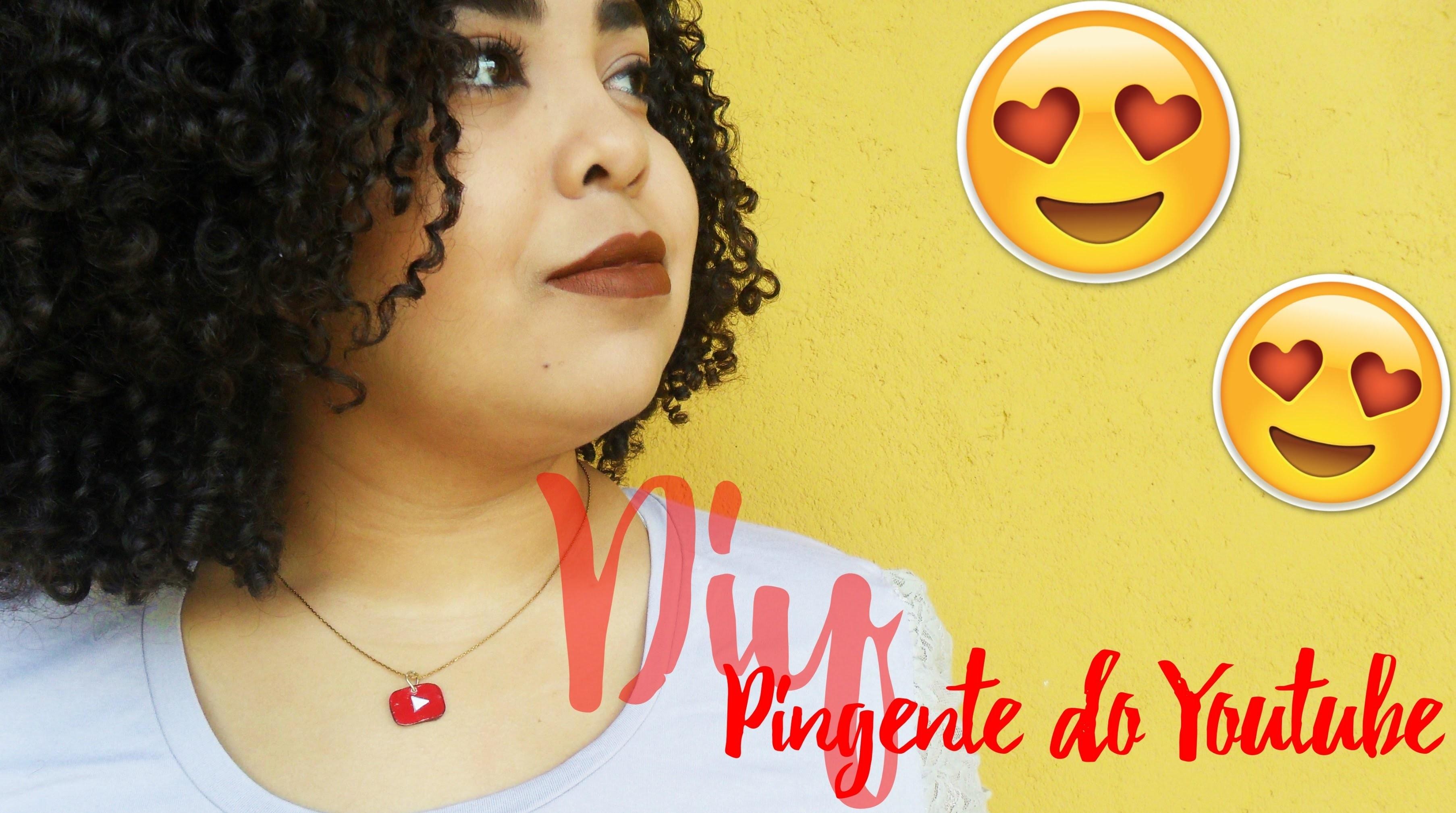 COMO FAZER PINGENTE DO YOUTUBE PARA COLAR E PULSEIRA|DIY YOUTUBE NECKLACE