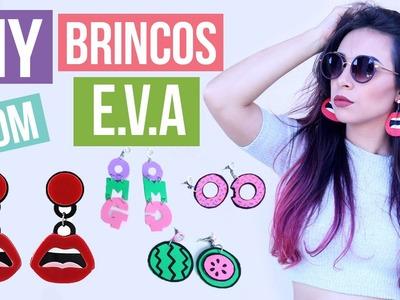 DIY: Brincos Gringos | Funny earring