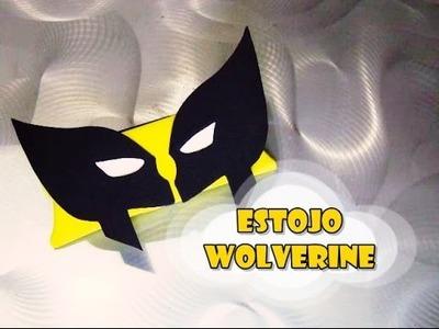DIY.: Estojo Wolverine
