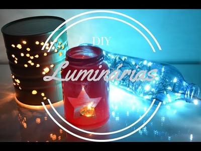 DIY: Luminárias Simples e Fáceis