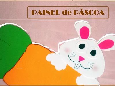 DIY: Painel para Páscoa | Poliana