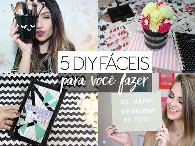 5 DIY fáceis para você testar! feat. Ingredy Barbi ♥