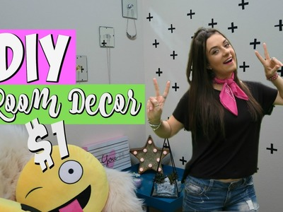 DIY $1 Room Decor Tumblr Inspired Dollar Store DIYs 2016 Josi Daresbach