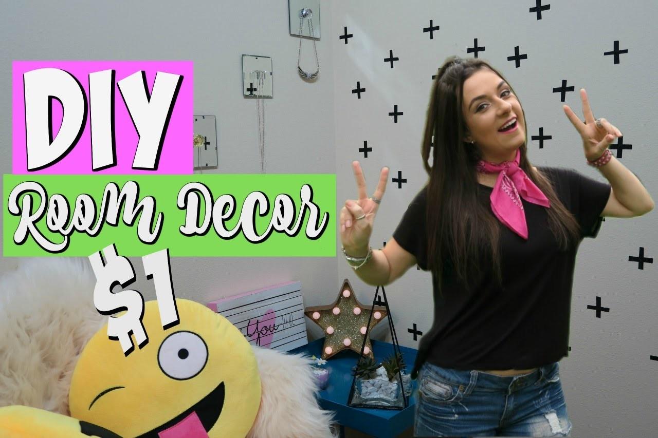DIY $1 Room Decor Tumblr Inspired Dollar Store DIYs 2016 Josi Daresbach