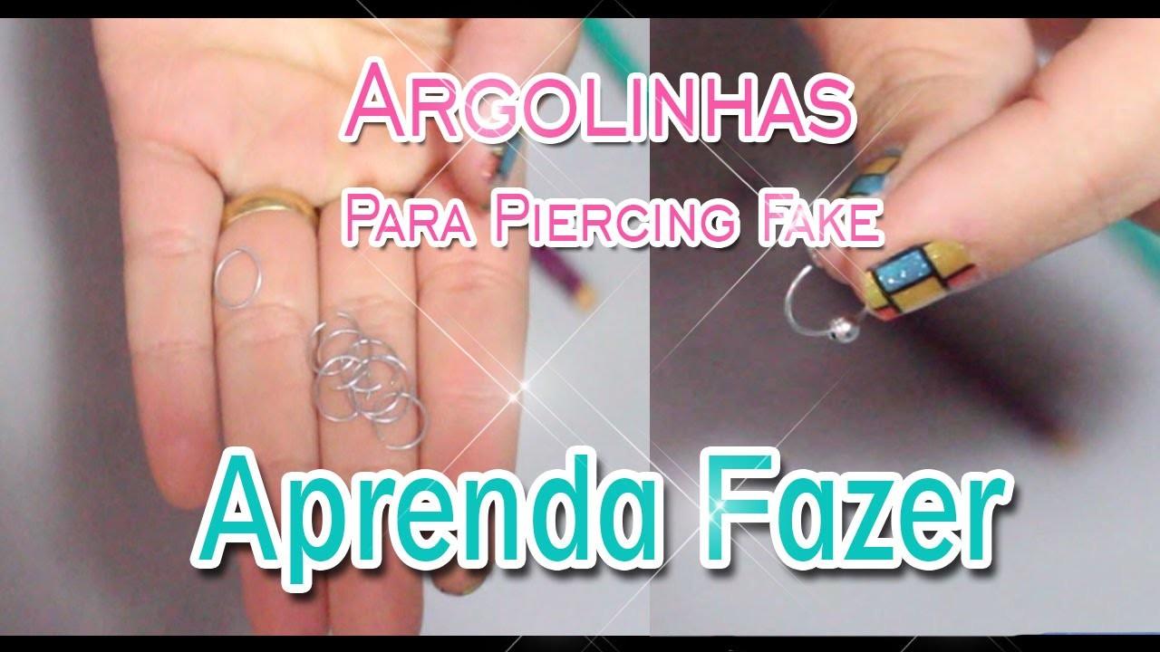 DIY: Argolinha Para Piercing Fake | Por Paula Borges