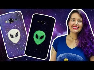 DIY: Capinha de Celular com ET que Brilha no Escuro