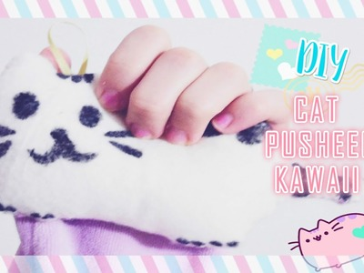 DIY: CAT PUSHEEN KAWAII.GATINHO PUSHEEN