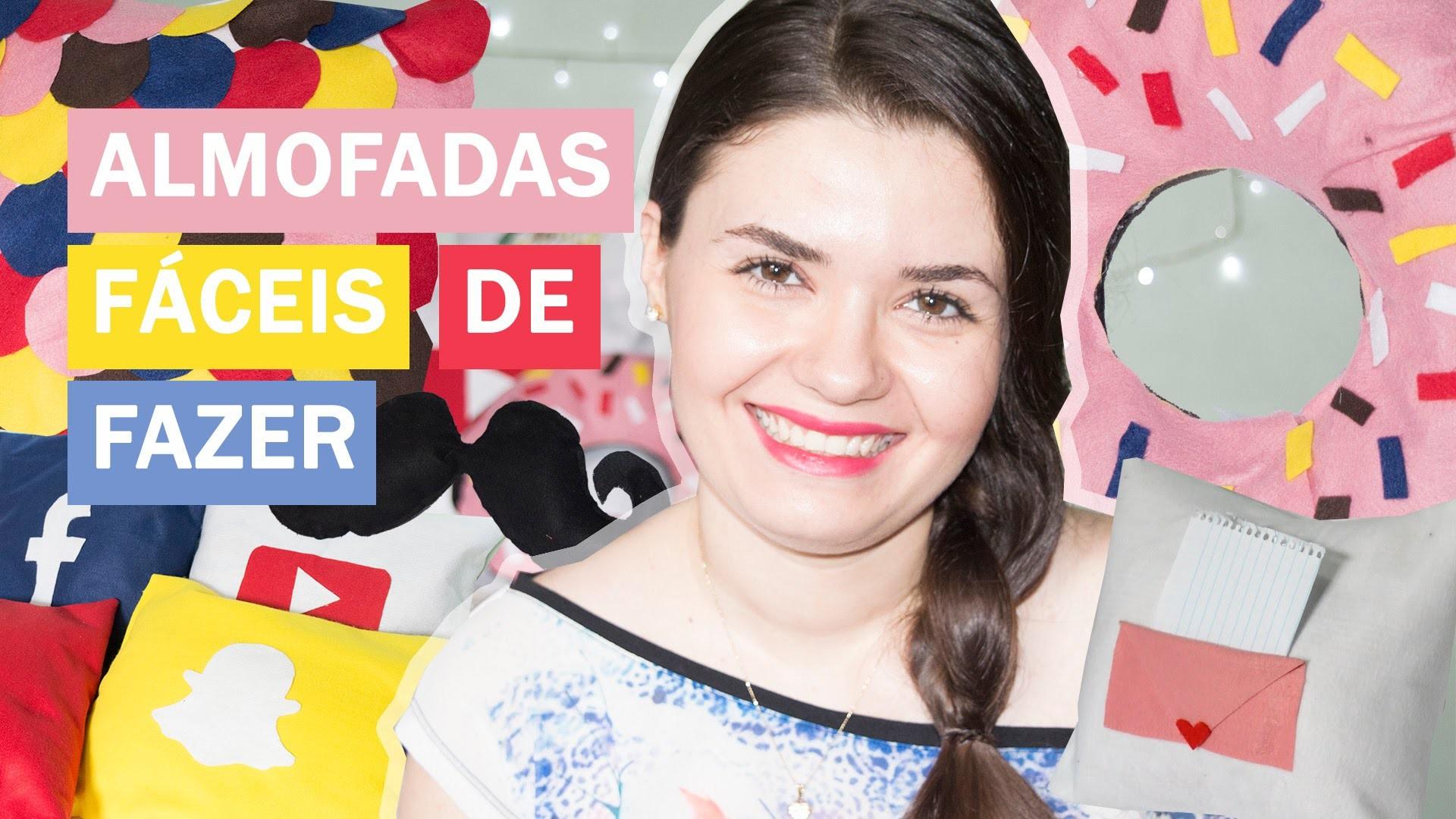 DIY - ALMOFADAS CRIATIVAS E FÁCEIS DE FAZER