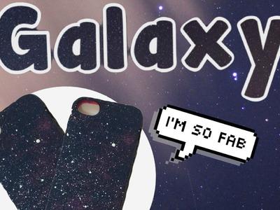 DIY:  capinhas estilo Galaxy