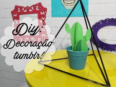DIY: Decoração estilo Tumblr!