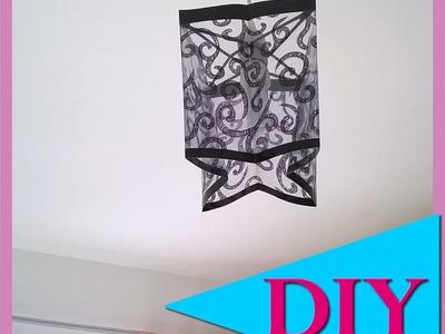 DIY: Luminária de acetato