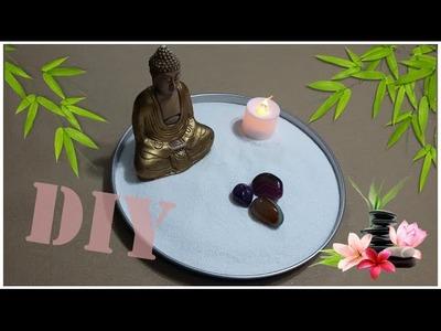 MINI JARDIM ZEN - ANTIESTRESSE ❤️ DIY -  Faça você mesmo