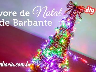 Árvore de Natal de Barbante (Artenharia) DIY #16