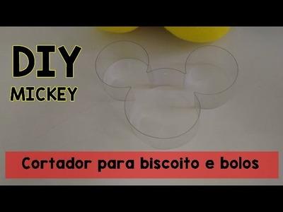 DIY: Cortador para biscoito do Mickey
