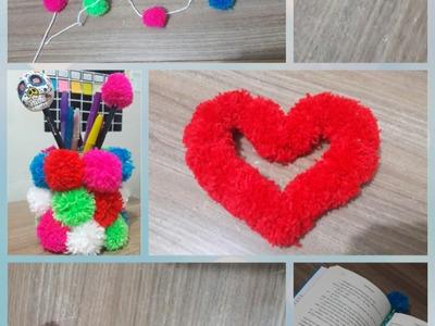 DIY: Pompons de lã