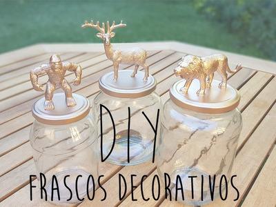 DIY Frascos Decorativos