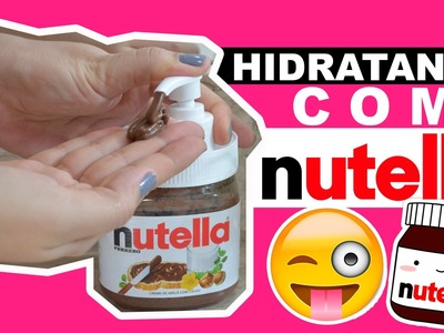 DIY HIDRATANTE DE NUTELLA | URSULA ANDRESS