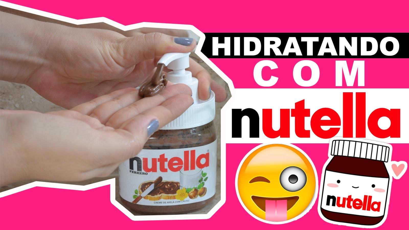 DIY HIDRATANTE DE NUTELLA | URSULA ANDRESS