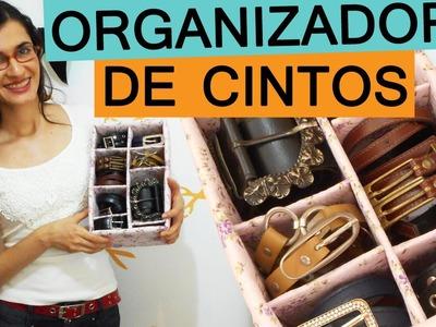 DIY ORGANIZADOR DE CINTOS | Customizando - Mariely Del Rey