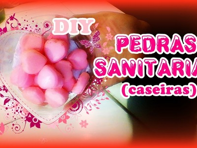 DIY - PEDRA SANITARIA CASEIRA.SANITARY HOMEMADE STONE - Tudo Simples & Natural
