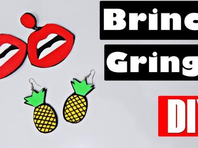 DIY - Brinco Gringo (Boca e Abacaxi)
