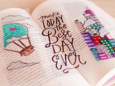 DIY • Como Fazer Marcador de Livro transparente ♥