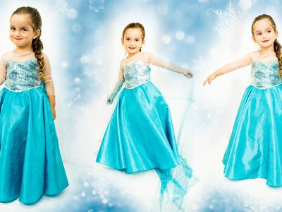 DIY: COSTURA VESTIDO ELSA- FROZEN: Vestido Inspirado[ Dress Elsa Frozen]