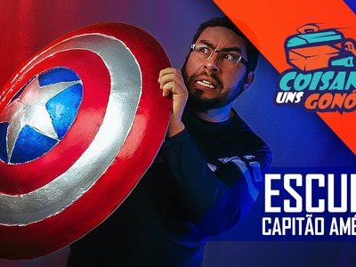 DIY: Escudo - Capitão América -  Faça você mesmo - CUG#29