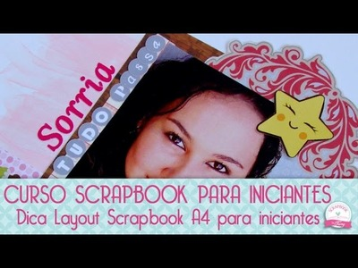 Layout Scrapbook A4 - #VEDA Scrapbook by Tamy