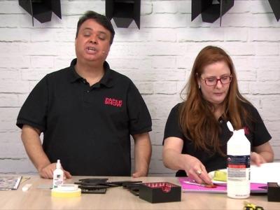Paper Show 27 - Porta Copos com impermeabilização caseira