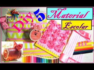 5 DIY MATERIAL ESCOLAR (VOLTA AS AULAS)