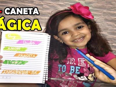 DIY - CANETA MÁGICA