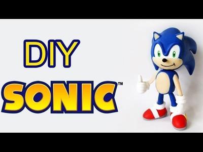 DIY: Como Fazer o SONIC  The Hedgehog em Biscuit | Ideias Personalizadas - DIY