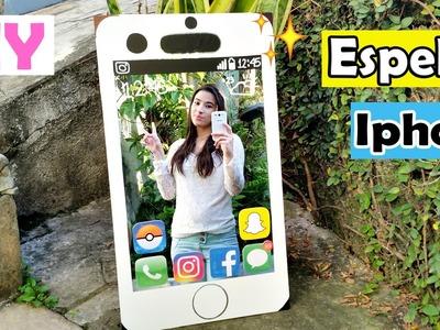 DIY: Iphone Espelho - Decoração