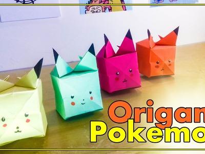 DIY - Pokemon de Origami Pokemon GO