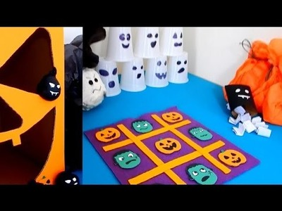 DIY - 4 Jogos Divertidos para Brincar no Halloween