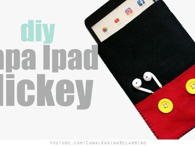 DIY Capa para Tablet Mickey | Karina Belarmino