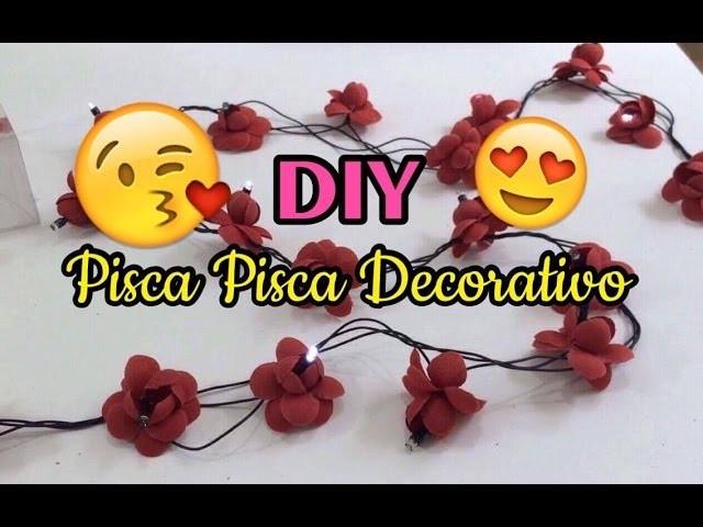 DIY - PISCA PISCA DE FLORES | JOVENS CASADAS