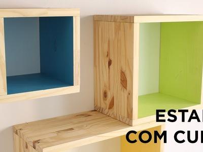 IDEIA DIY: Crie uma estante com cubos DIY com a BLACK+DECKER™