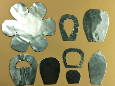 Molde de Alumínio para fazer Flores, Borboletas - Passo a Passo - DIY