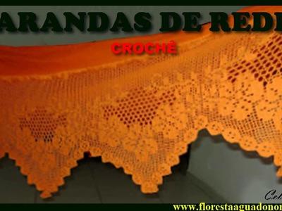 Amazônia - Crochê - Artesanato - Varandas de Rede - Coloridas - Celcoimbra -  FAN