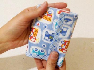 Carteira Infantil de Tecido Sem Costura para Meninos - DIY Artesanato